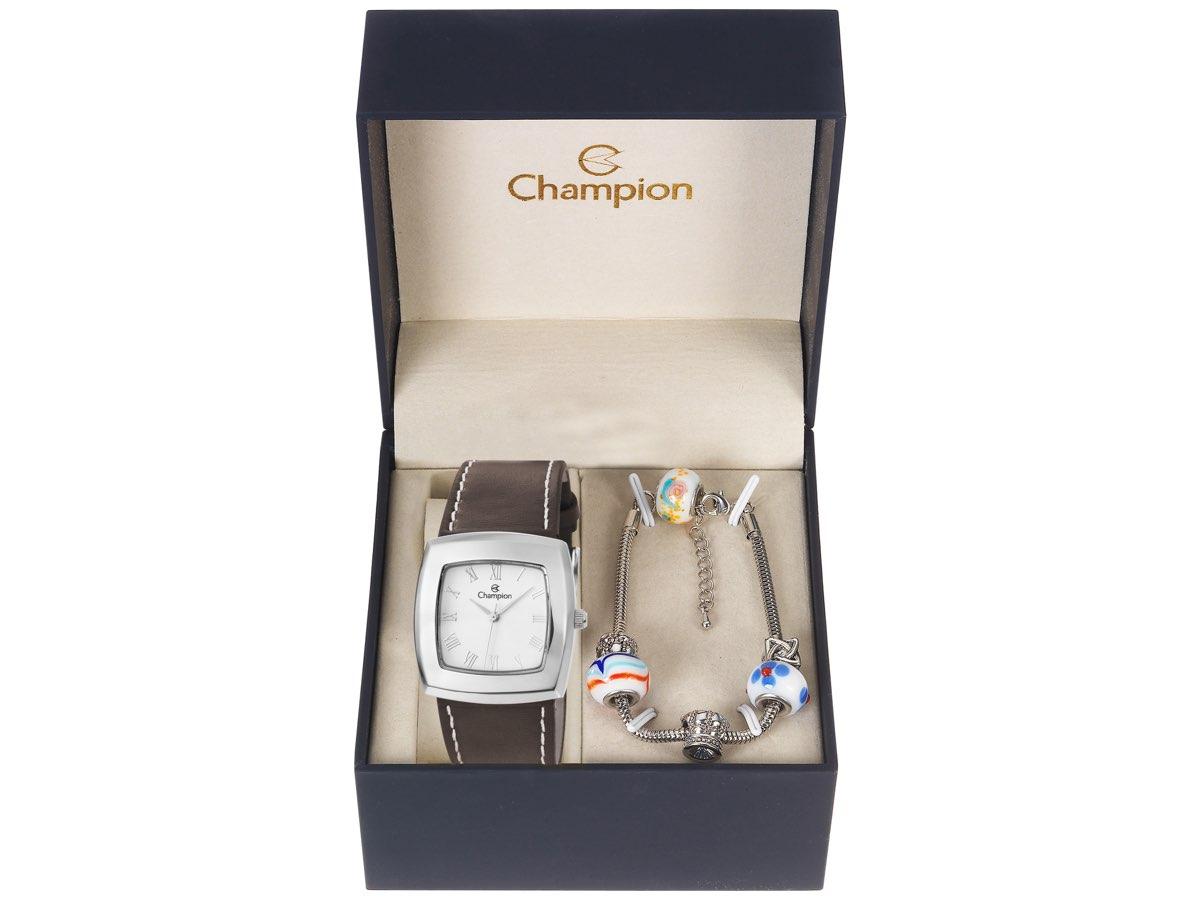 Relógio de Pulso KIT PRESENTES CH25650Y - Champion Relógios