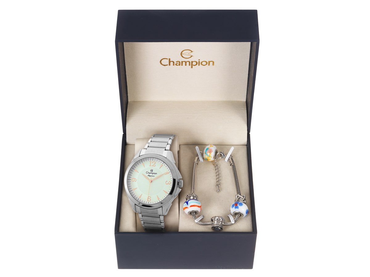 Relógio de Pulso KIT PRESENTES CN26091C - Champion Relógios
