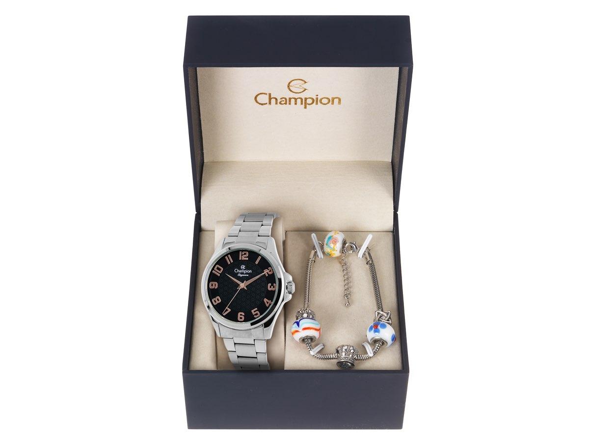Relógio de Pulso KIT PRESENTES CN26377K - Champion Relógios