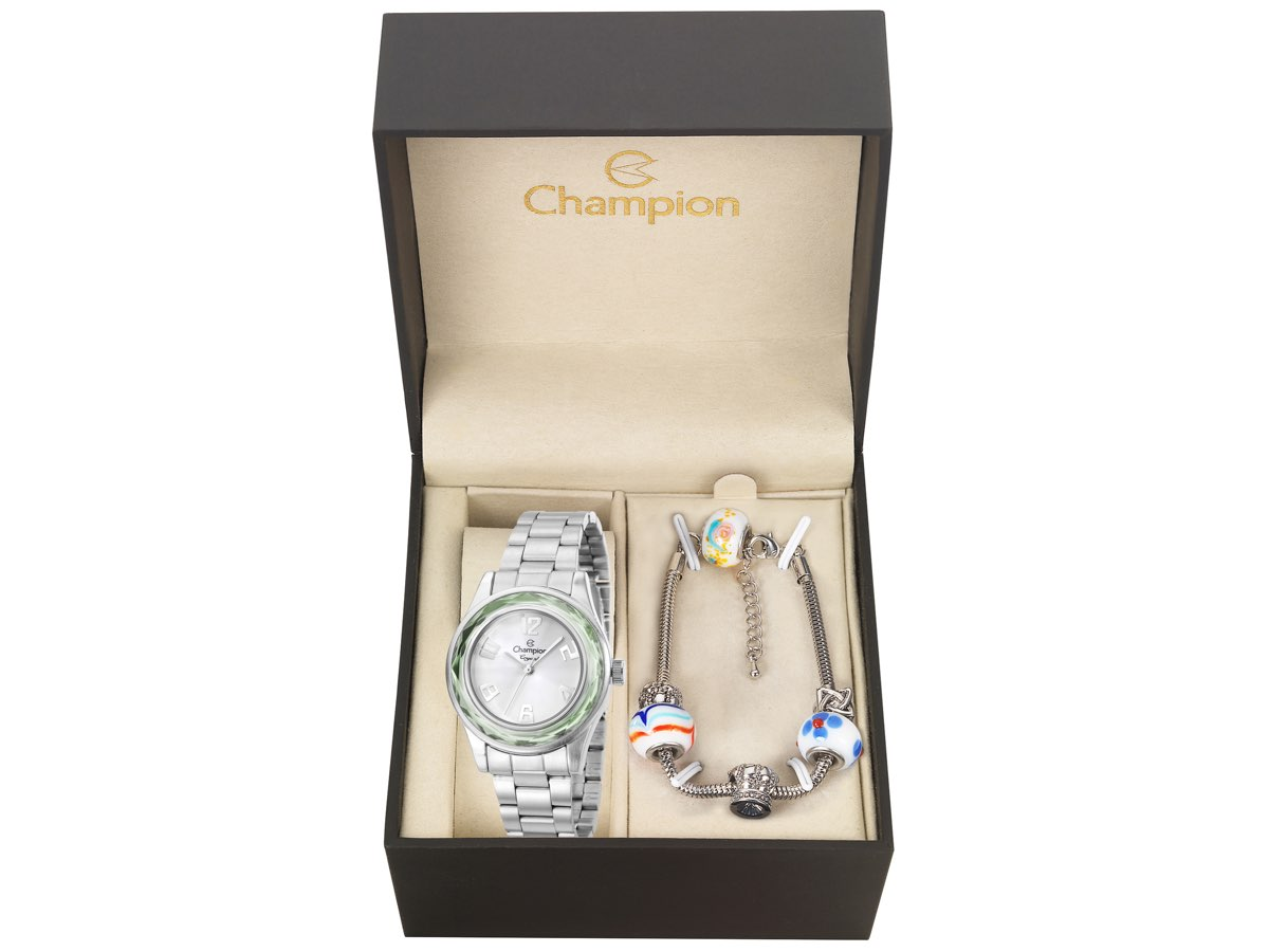 Relógio de Pulso KIT PRESENTES CN29990Y - Champion Relógios