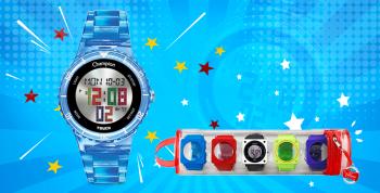 Descubra os detalhes do relógio Champion Touch