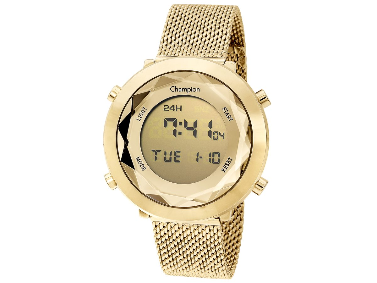 Relógio de Pulso DIGITAL CH48028G - Champion Relógios